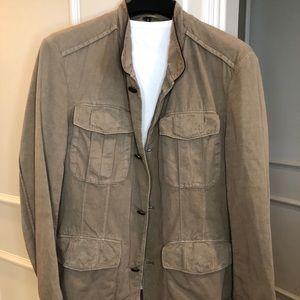 Hugo Boss Tan Cotton Jacket